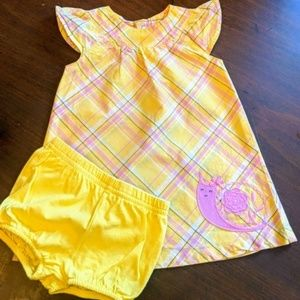 Carter's | Madras Plays Dress with Bloomers | 6M